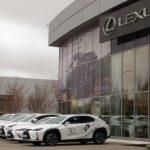 Lexus возобновляет работу дилеров по всей России