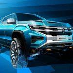 Пикап Ford Ranger превратится в Volkswagen Amarok следующего поколения