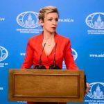 Мария Захарова: Введением санкций Лондон пытается вмешаться во внутренние дела России