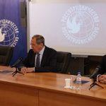 Сергей Лавров представил коллективу Россотрудничества Евгения Примакова