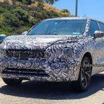 Новый Mitsubishi Outlander заметили на тестах