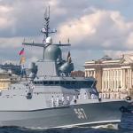 В Санкт-Петербурге прошёл парад в честь Дня Военно-морского флота (видео)