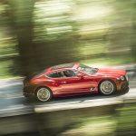 Роскошный Bentley Continental GT получил новые руль и три цвета окраски кузова