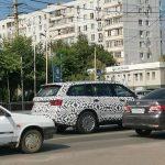 Внедорожник Aurus Komendant впервые замечен на российских дорогах