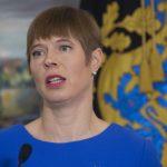 Керсти Кальюлайд нанесет однодневный рабочий визит в Вильнюс