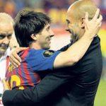 Гвардиола приехал в Каталонию переманить Месси из «Барселоны» в «Манчестер Сити»