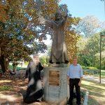 Соотечественники в Брисбене благоустроили территорию вокруг памятника князю Владимиру