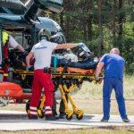 Пострадавшую в ДТП женщину на вертолете доставили в больницу