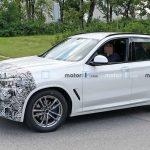 BMW начал испытания обновленного кроссовера X3
