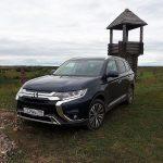 Дорога длиною в 8 лет: видео тест-драйв Mitsubishi Outlander