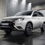 Mitsubishi подготовила «черное специздание» для кроссовера Outlander