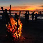 В выходные на пляже Какумяэ пройдёт фестиваль пирогов и ночь древних огней