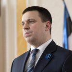 Премьер-министр Юри Ратас госпитализирован