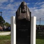 Памятник Патриарху Московскому и всея Руси Алексию Второму отреставрировали в Таллине