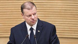 Кабмин не думает о введении ни всеобщего, ни локального карантина – премьер Литвы
