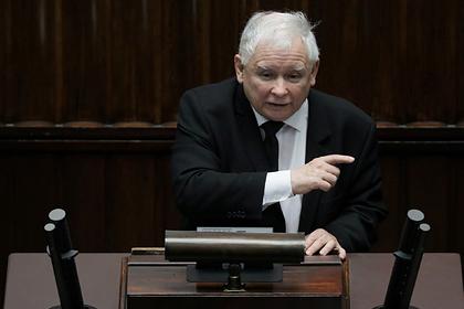 Глава правящей партии Польши назвал ЛГБТ «угрозой цивилизации»