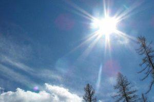 Среда будет солнечной и рекордно теплой