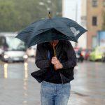 Желтое предупреждение: днем повсеместно дождь и сильный ветер