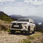 Внедорожник Lexus LX получил в России две новые спецверсии