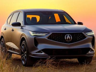 Acura представила новый премиальный кроссовер MDX