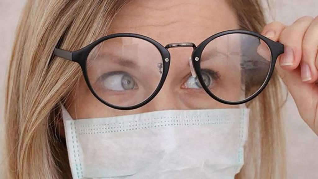 Маска на лице: дышать или видеть?