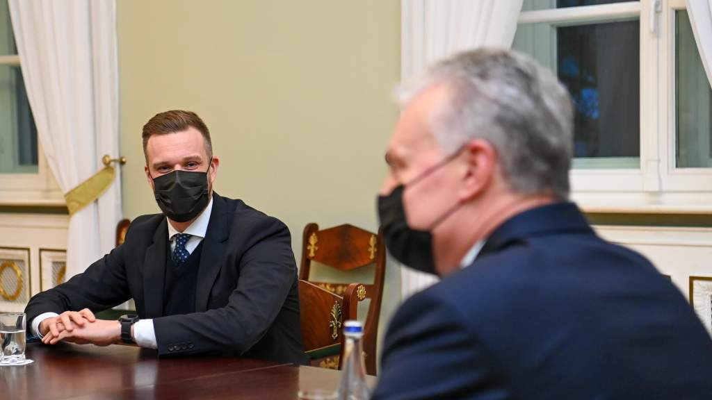 Президент ожидал бы от Г. Ландсбергиса преемственности внешней политики - пресс-секретарь