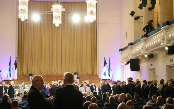 В случае необходимости Коллегия выборщиков президента Эстонии будет состоять из 208 человек