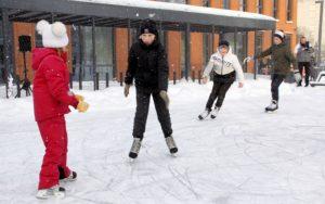 Хорошие новости: в эстонском Кохтла-Ярве открываются уличные катки