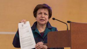 Татьяна Жданок: Чиновники Евросоюза закрывают глаза на проблемы нацменьшинств